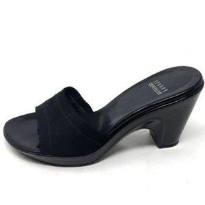 Stuart Weitzman 6.5 Heels Wedge Slip On Mules Heel